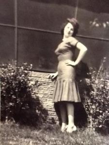 Mom around 1961ish - sassy